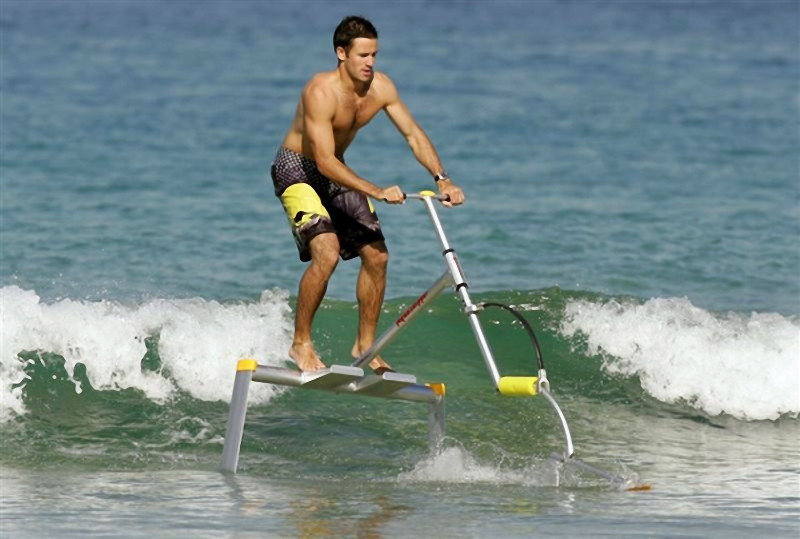 Human Powered Hydrofoil