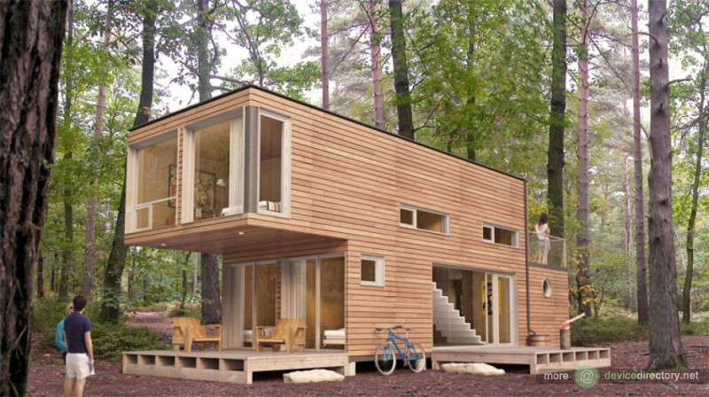 Homes built with shipping containers