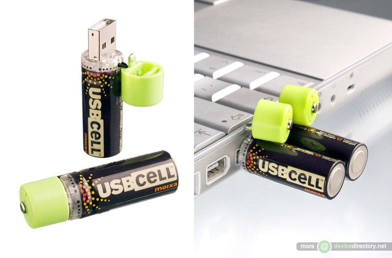 USBCELL Rechargeable Batteries
